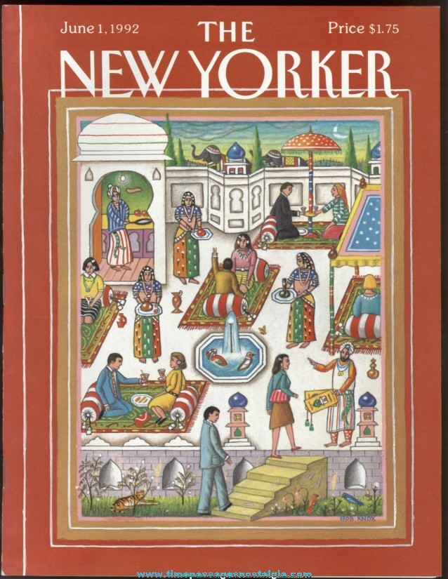 New Yorker Magazine - June 1, 1992 - Cover by Bob Knox