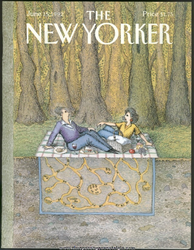 New Yorker Magazine - June 15, 1992 - Cover by John O'Brien
