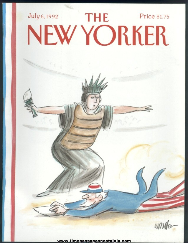 New Yorker Magazine - July 6, 1992 - Cover by Warren Miller