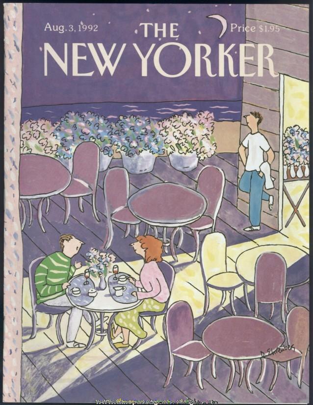 New Yorker Magazine - August 3, 1992 - Cover by Devera Ehrenberg