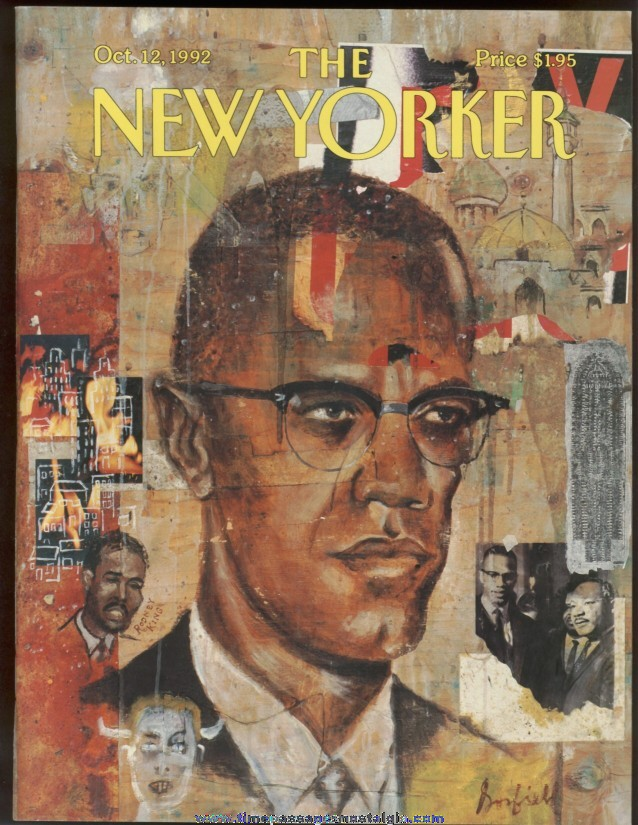 New Yorker Magazine - October 12, 1992 - Cover by Josh Gosfield