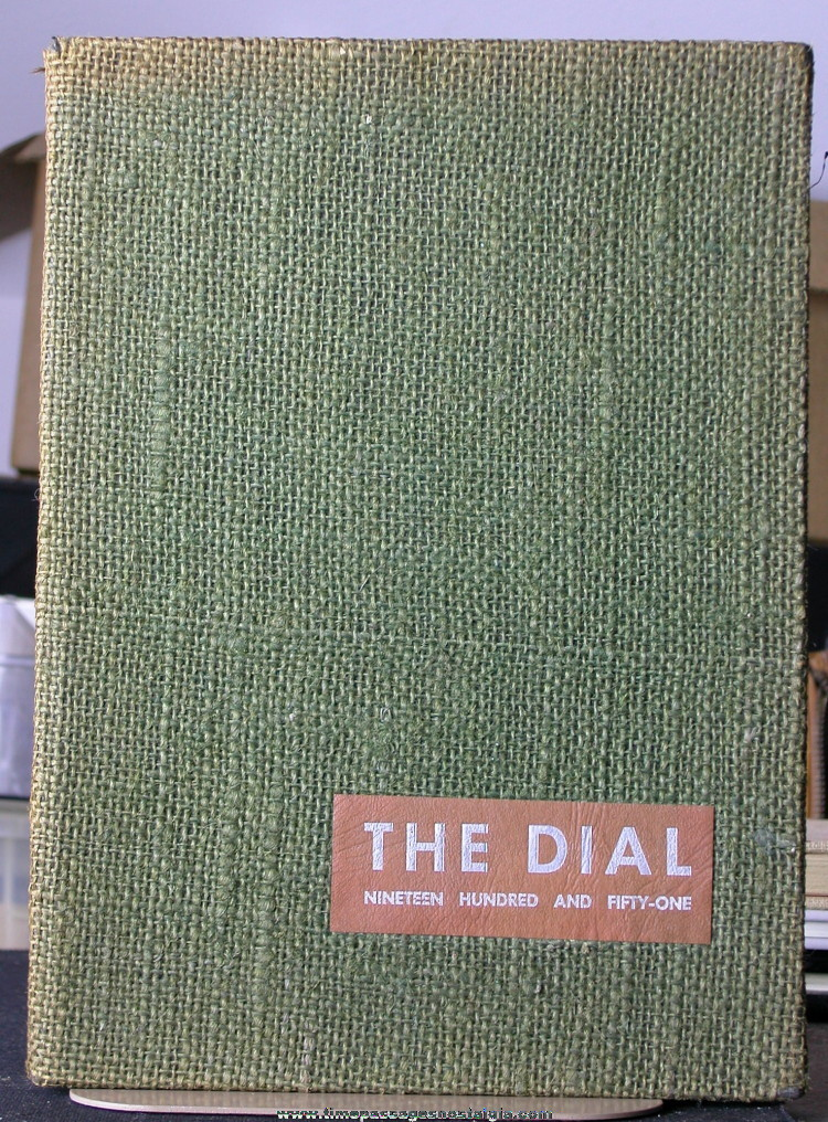 1951 State Teachers College Yearbook (Dial)
