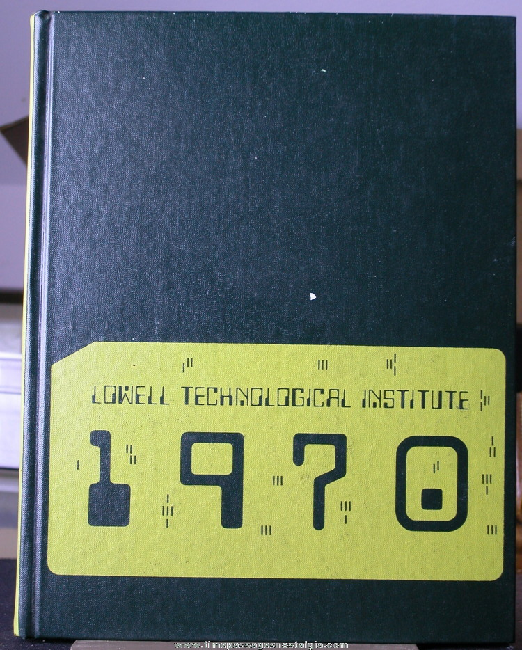 1970 Lowell Technological Institute Yearbook (Pickout)
